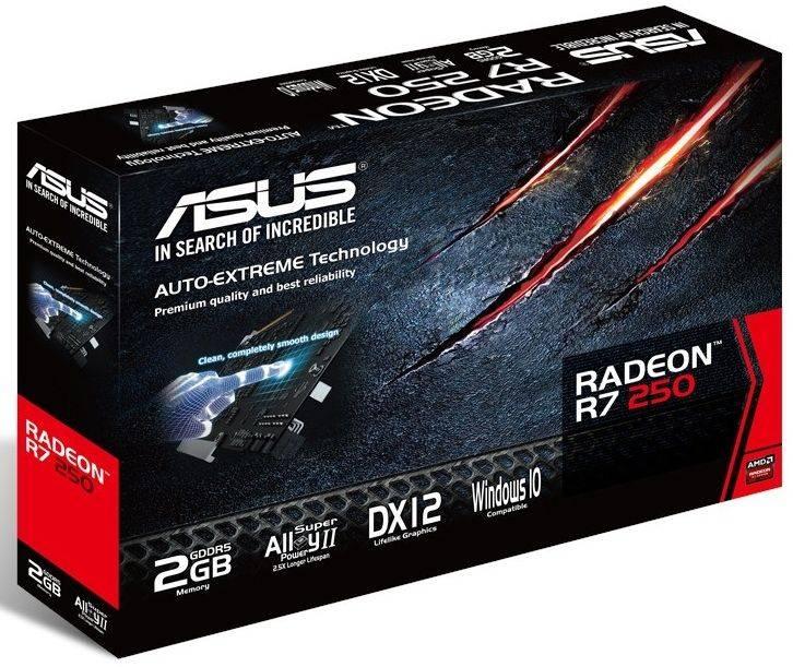 Видеокарта Asus Radeon R7 250 2048 МБ - фото 5