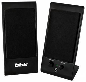 Колонки 2.0 BBK CA-191S черный / черный