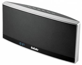 Магнитола BBK BTA120 черный / серебристый