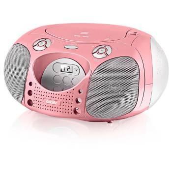 Магнитола BBK BX110U розовый