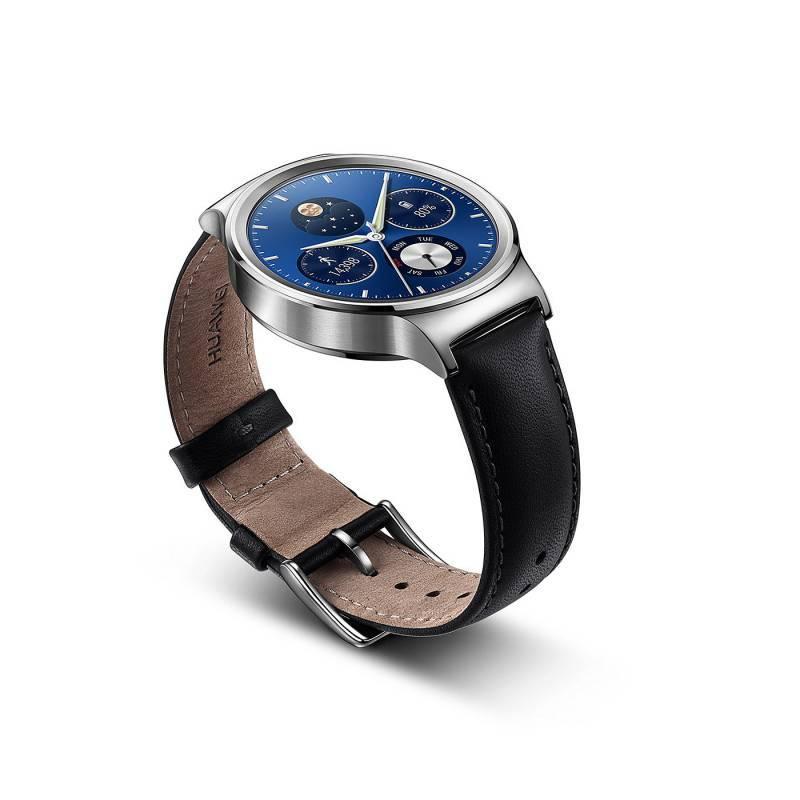 Смарт-часы Huawei CLASSIC LEATHER MERCURY-G00 серебристый - фото 3