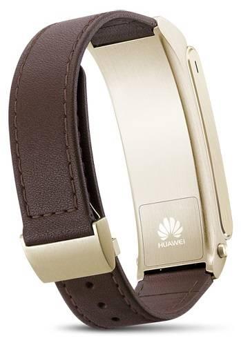 Фитнес-трекер Huawei B2 PREMIUM коричневый/золотистый - фото 2