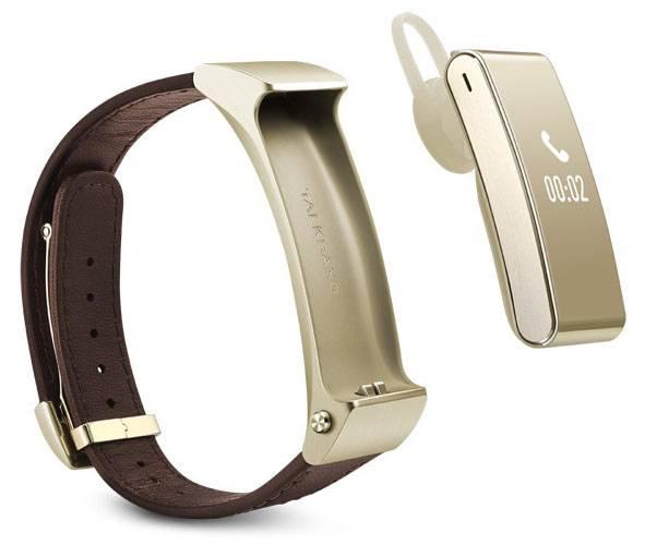 Фитнес-трекер Huawei B2 PREMIUM коричневый/золотистый - фото 4