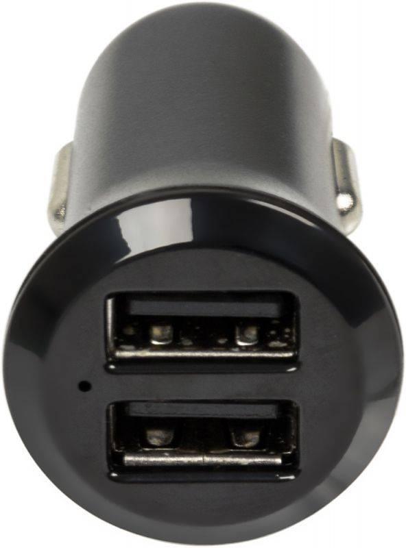 Автомобильное зар./устр. Wiiix UCC-2-11 черный - фото 2