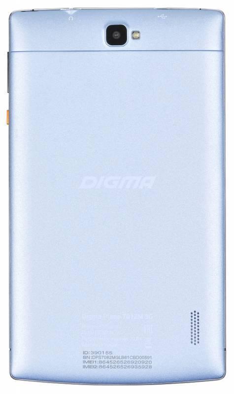 "Планшет 7"" Digma Plane 7012M 3G 8ГБ голубой (PS7082MG) - фото 4"