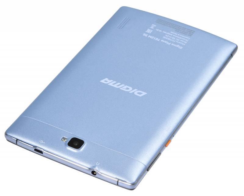 "Планшет 7"" Digma Plane 7012M 3G 8ГБ голубой (PS7082MG) - фото 6"