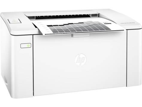Принтер HP LaserJet Pro M104a RU белый (G3Q36A) - фото 1