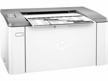 Принтер HP LaserJet Ultra M106w белый