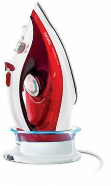 Утюг Philips Azur FreeMotion GC4595/40 красный/белый