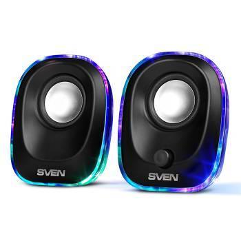 Акустическая система 2.0 Sven 330 черный