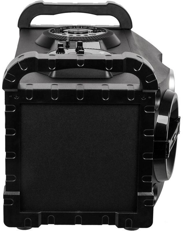 Минисистема BBK AMS115BT черный/темно-синий - фото 3