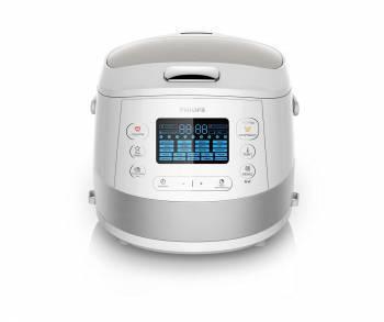 Мультиварка Philips HD4734 / 03 белый / серебристый