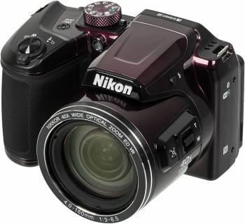 Фотоаппарат Nikon CoolPix B500 фиолетовый (VNA952E1)
