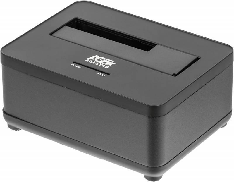 Док-станция для HDD AgeStar 3UBT7 SATA III черный - фото 1
