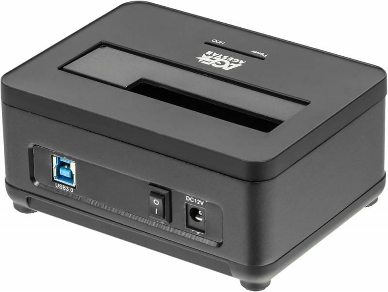 Док-станция для HDD AgeStar 3UBT7 SATA III черный - фото 2
