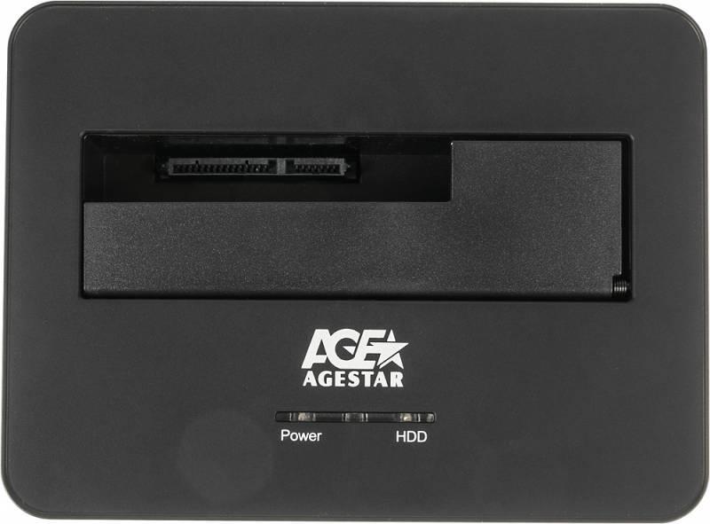 Док-станция для HDD AgeStar 3UBT7 SATA III черный - фото 4