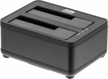 Док-станция для HDD AgeStar 3UBT8 SATA III черный