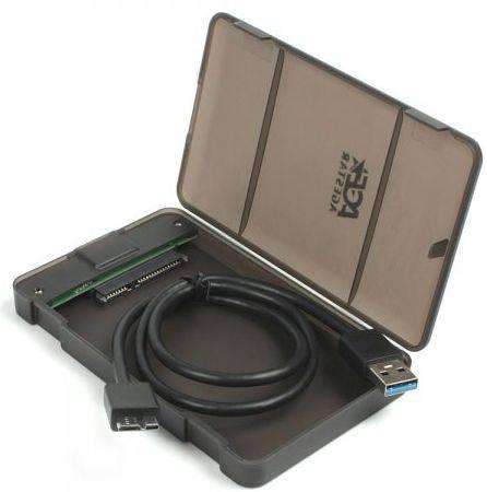Внешний корпус для HDD/SSD AgeStar 31UBCP3 SATA черный - фото 3
