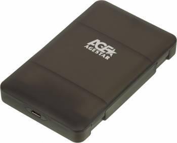 Внешний корпус для HDD/SSD AgeStar 31UBCP3C SATA черный