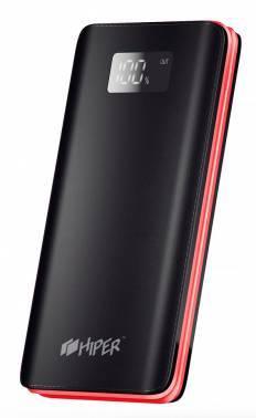Мобильный аккумулятор Hiper BS10000 Li-Pol 10000mAh черный