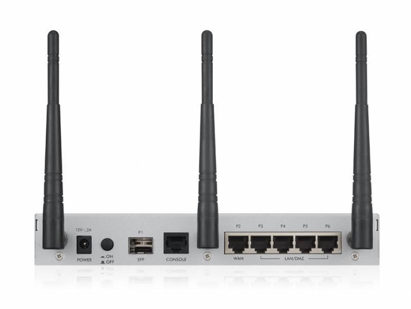 Сетевой экран Zyxel USG20W-VPN (USG20W-VPN-RU0101F) серебристый - фото 3