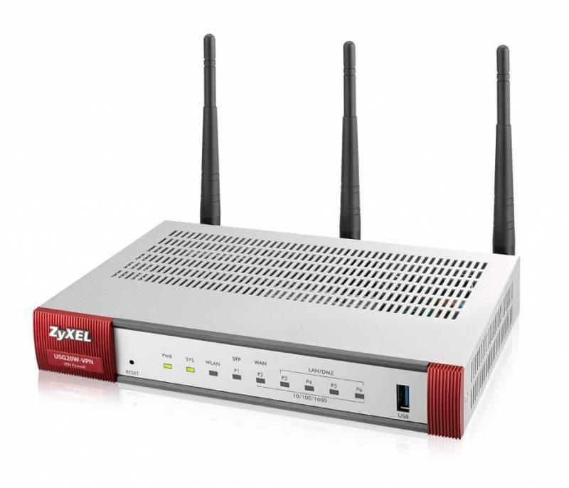 Сетевой экран Zyxel USG20W-VPN серебристый (USG20W-VPN-RU0101F) - фото 4