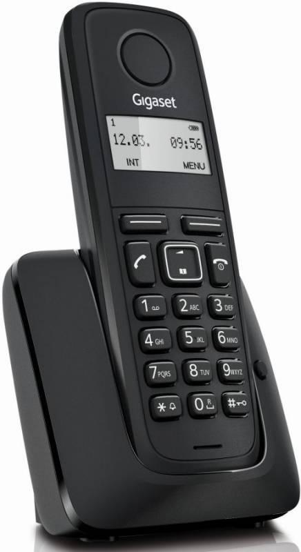 Телефон Gigaset A116 черный - фото 1