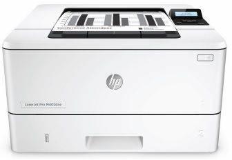 Принтер HP LaserJet Pro M402dne белый