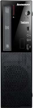 ПК Lenovo ThinkCentre Edge 73 черный, процессор Intel Pentium G3260, оперативная память 4Gb, жесткий диск 500Gb 7.2k, видеокарта Intel HD Graphics, привод DVDRW, CR, small form factor, Windows 10 Home, GbitEth