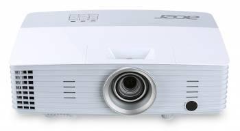 Проектор Acer P5227 белый, технология DLP, яркость 4000Lm, разрешение 1024x768, контраст 20000:1, ресурс лампы до 2500 часов, 2xHDMI, вес 2.5кг