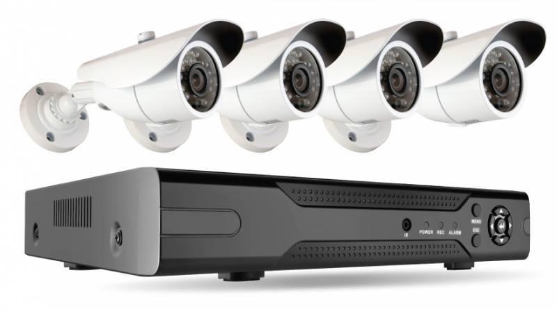 Комплект видеонаблюдения Ginzzu HK-840D - фото 1