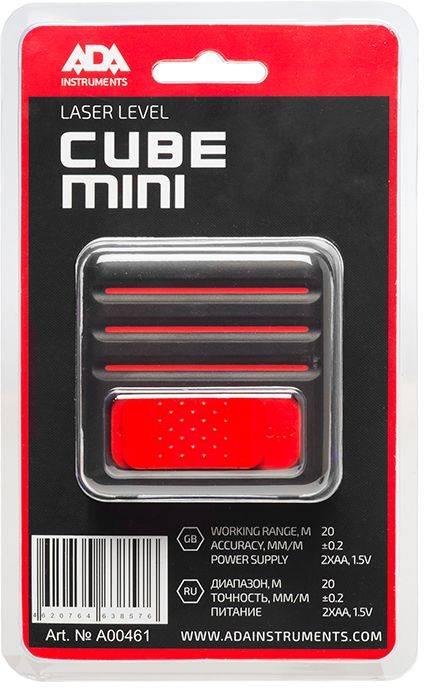 Лазерный нивелир Ada Cube MINI Basic Edition - фото 5