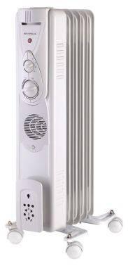 Масляный радиатор Supra ORS-05-F1 белый
