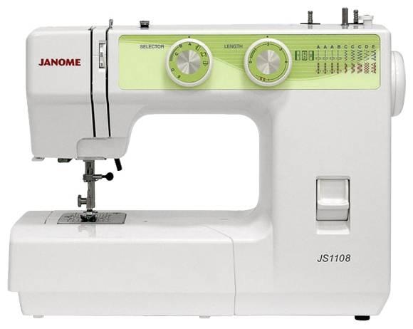 Швейная машина Janome JS1108 белый - фото 1