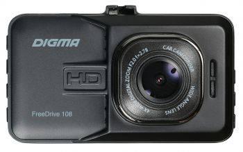 Видеорегистратор Digma FreeDrive 108 (FD108S)