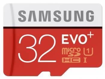 Карта памяти microSD 32Gb Class10 Samsung EVO PLUS MB-MC32DA / RU