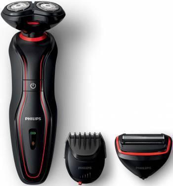 Электробритва Philips S738/17 черный/красный
