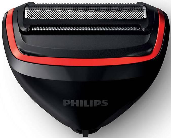 Электробритва Philips S738/17 черный/красный - фото 4