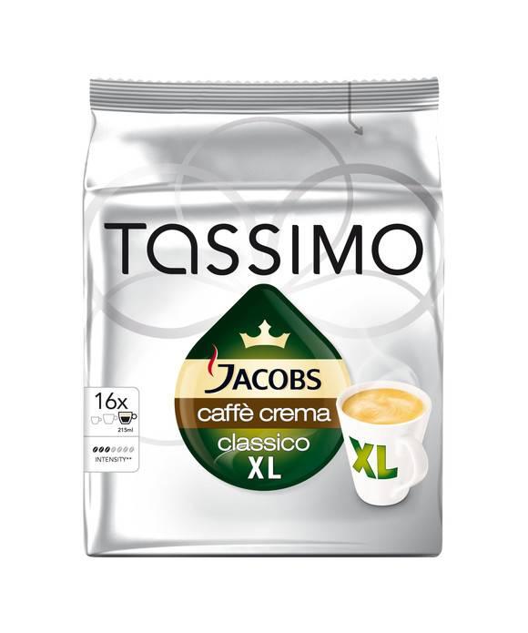 Кофе капсульный Tassimo Caf? Crema упак.:16капс. (4251496) - фото 2