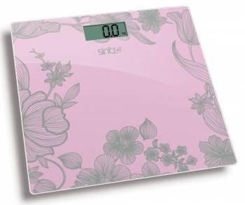 Весы напольные электронные Sinbo SBS 4429 розовый