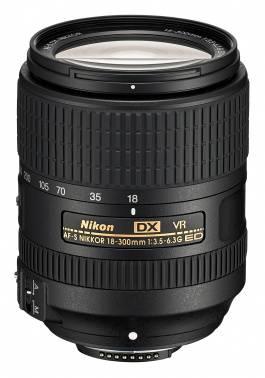 Объектив Nikon AF-S DX Nikkor ED VR 18-300mm f/3.5-6.3 (jaa821da)