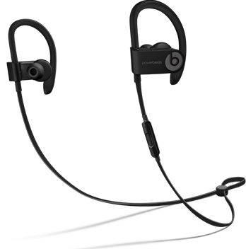 Гарнитура Beats Powerbeats 3 черный (ML8V2ZE/A) - фото 1