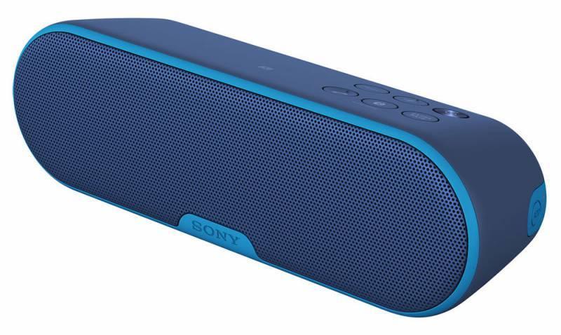 Акустическая система моно Sony SRS-XB2 синий - фото 1