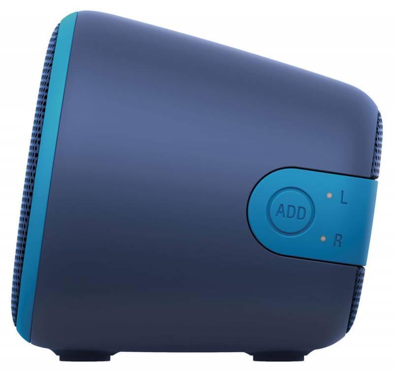 Акустическая система моно Sony SRS-XB2 синий - фото 5