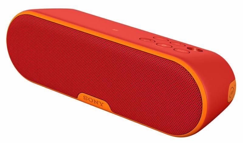 Акустическая система моно Sony SRS-XB2 красный - фото 1