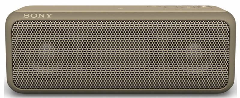 Акустическая система моно Sony SRS-XB3 светло-коричневый - фото 2