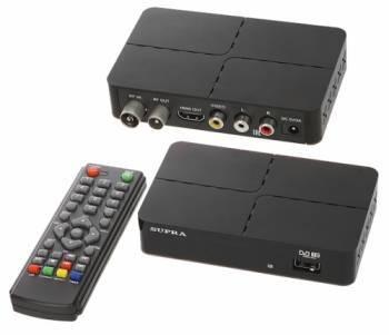 Ресивер DVB-T2 Supra SDT-90 черный