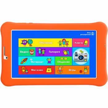 """Планшет 7"""" Turbo TurboKids 3G 8 белый/оранжевый"""