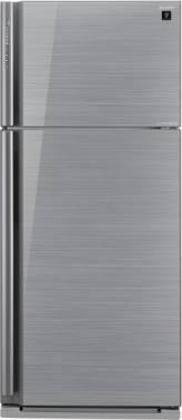 Холодильник Sharp SJ-XP59PGSL серебристое стекло/стекло