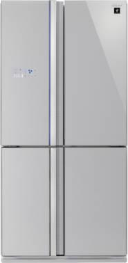 Холодильник Sharp SJ-FS97VSL серебристое стекло/стекло
